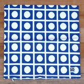 サムネイル:クッションカバー Kinji Blue / 10gruppen