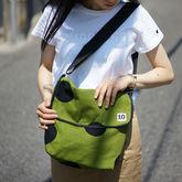 サムネイル:ショルダーバッグ キャンバス ciao green