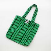 サムネイル:スモールキャンバスバッグ Ax green / 10gruppen