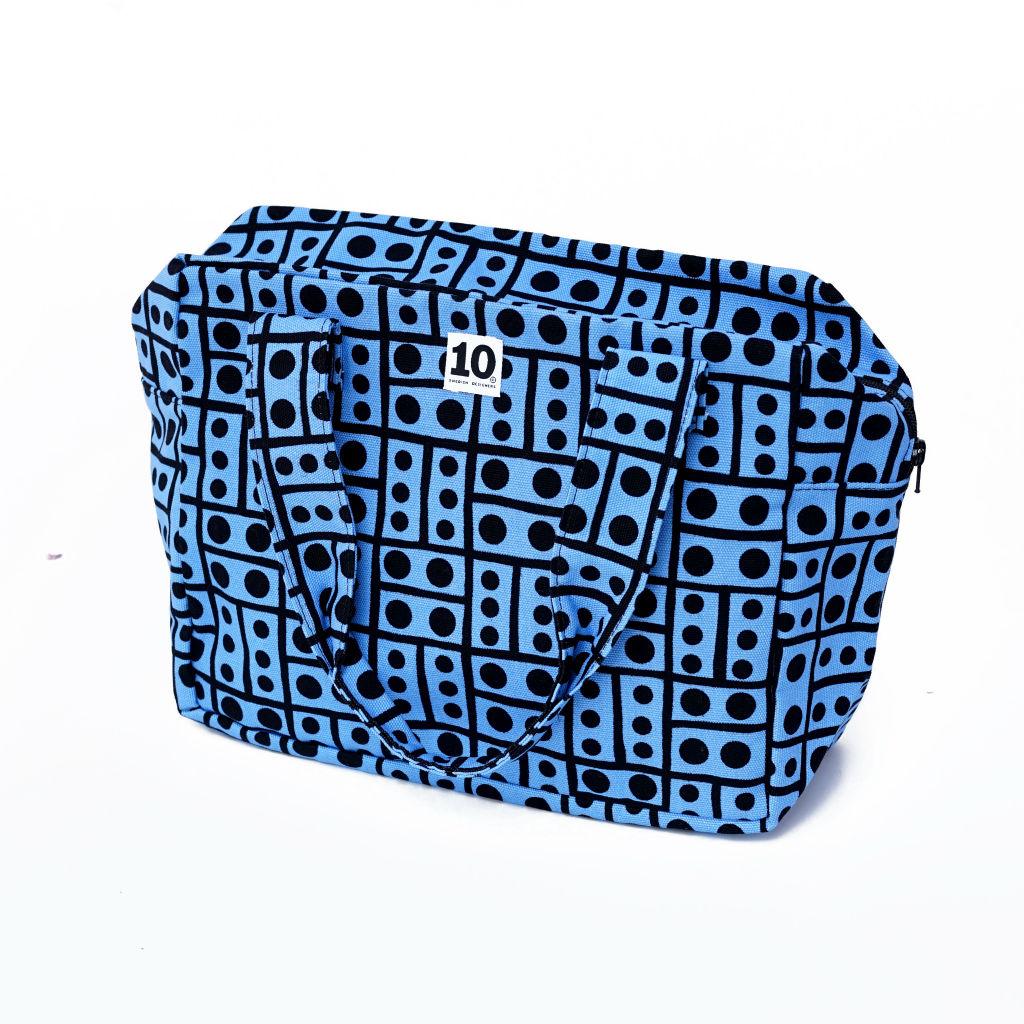 北欧スウェーデン ボックスバッグ Hot Spot blue / 10gruppen1