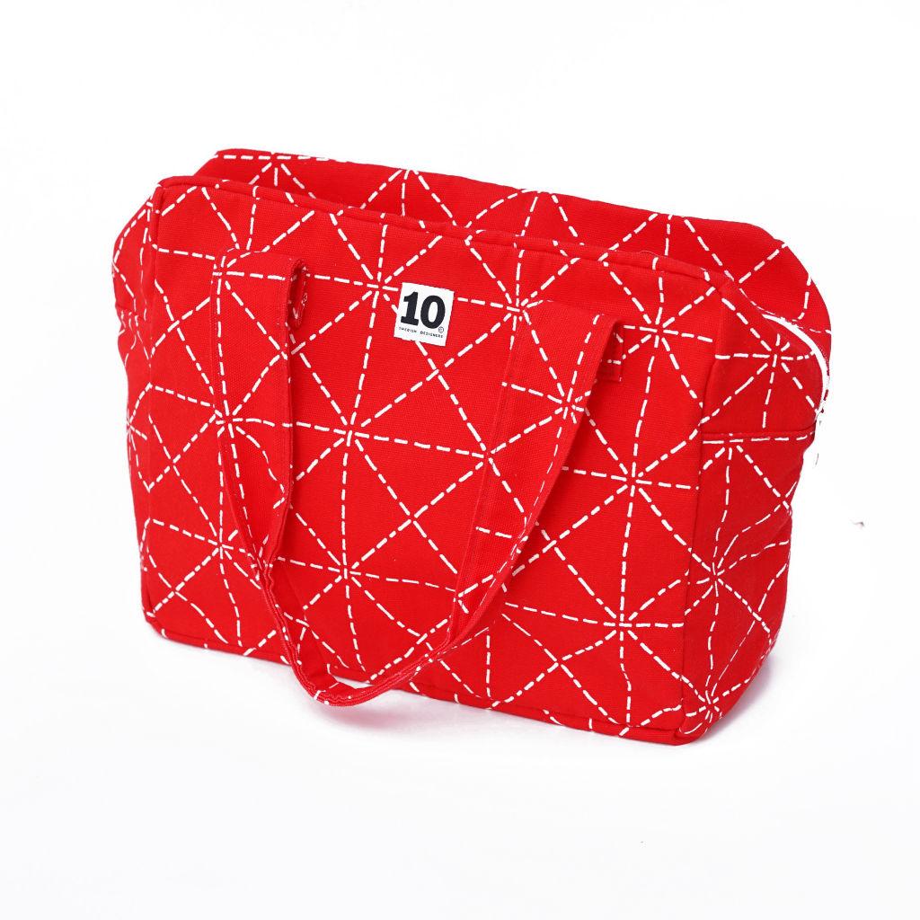 北欧スウェーデン ボックスバッグ Elsa red / 10gruppen1