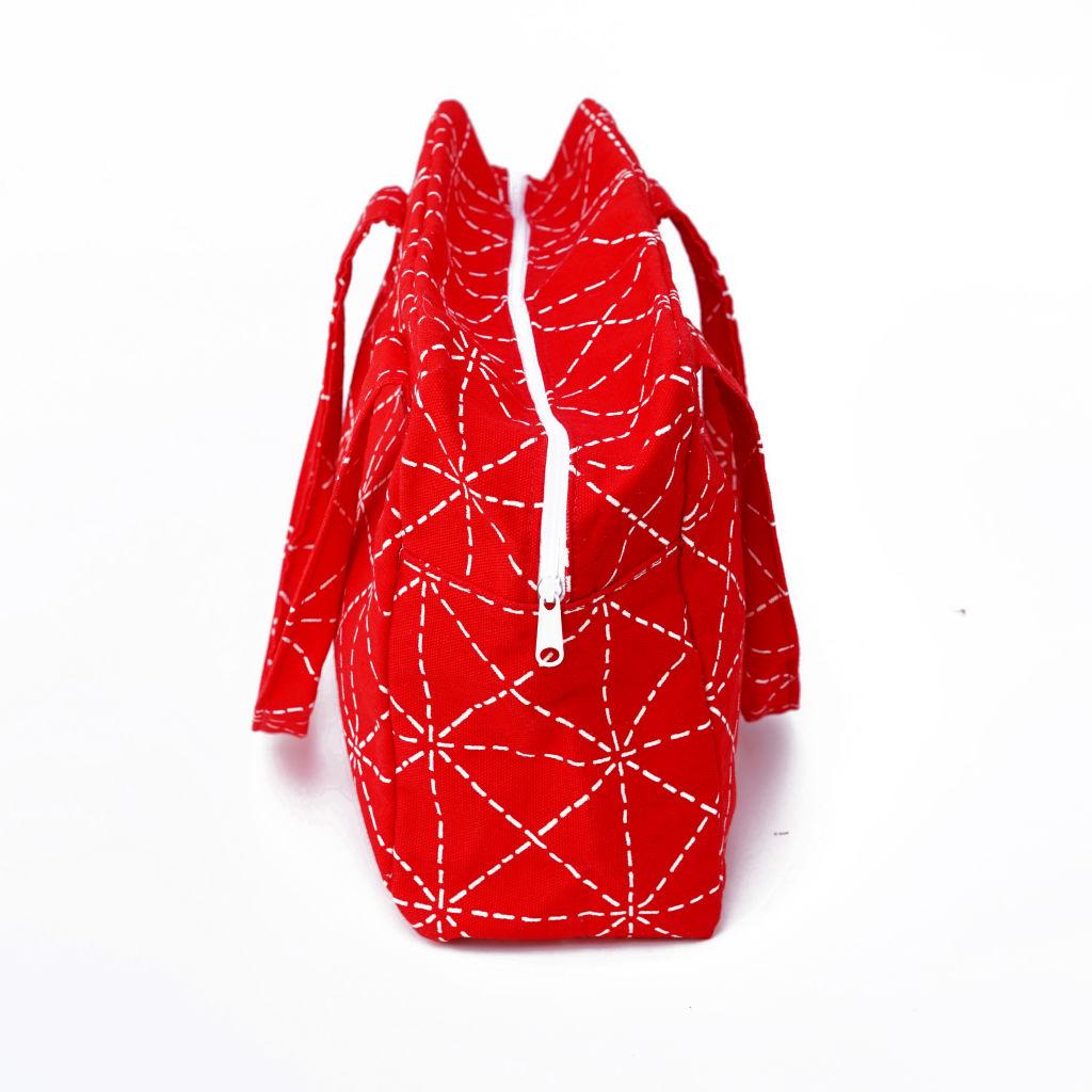 北欧スウェーデン ボックスバッグ Elsa red / 10gruppen2