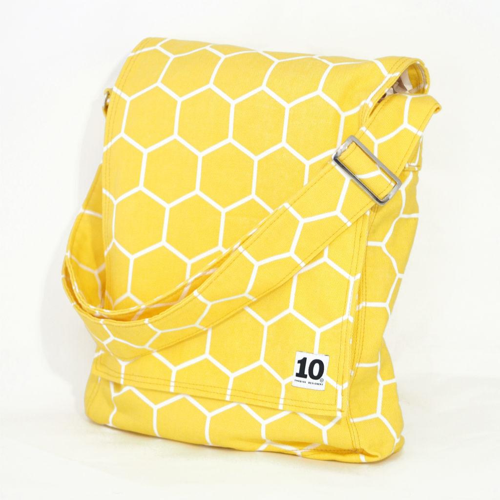 北欧スウェーデン ショルダーバッグ フラップ honey yellow / 10gruppen2