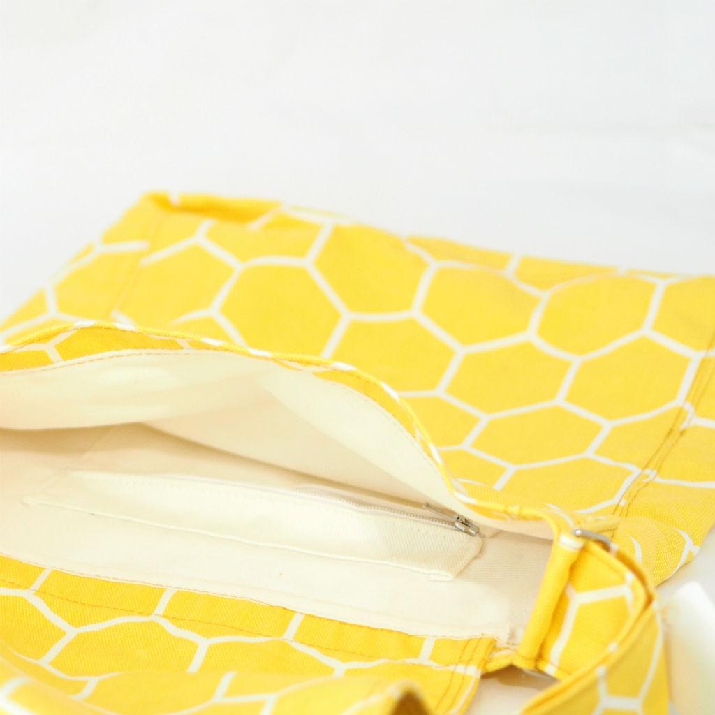 北欧スウェーデン ショルダーバッグ フラップ honey yellow / 10gruppen3