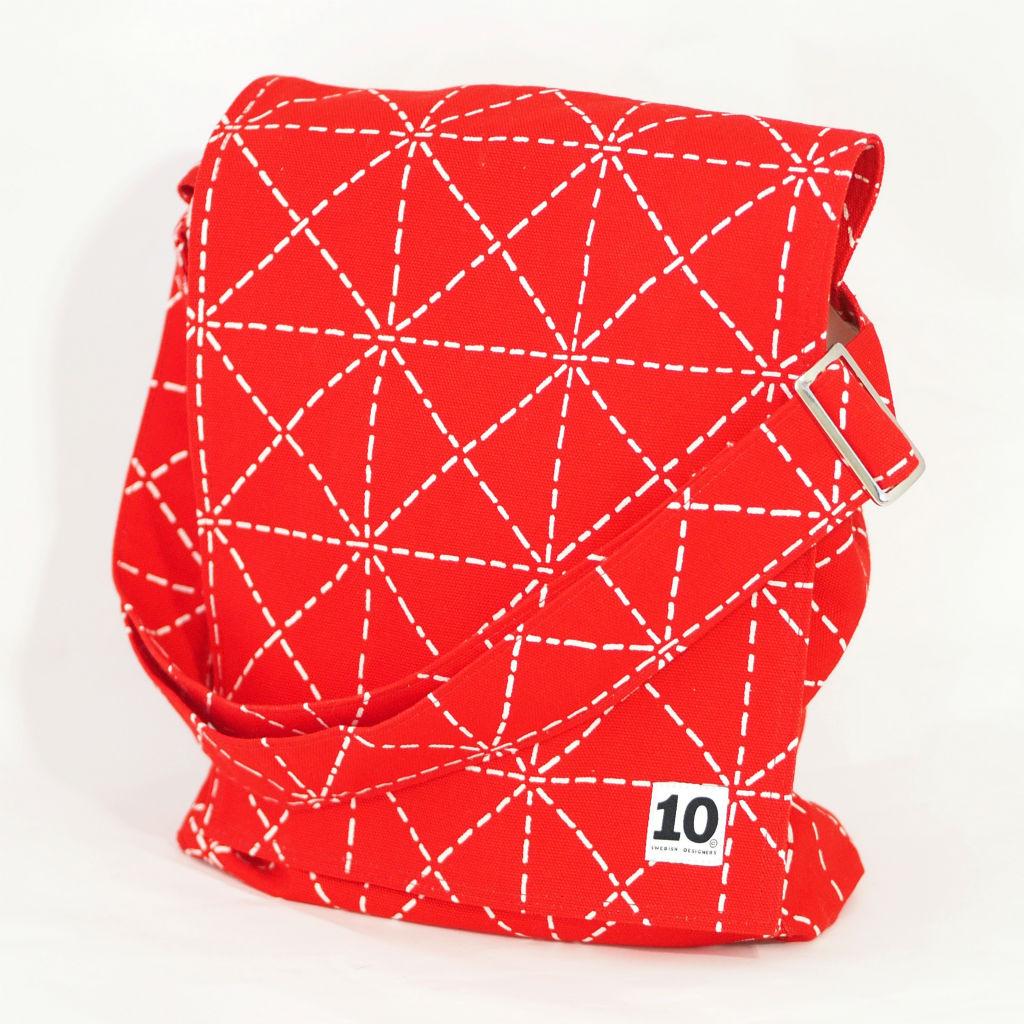 北欧スウェーデン ショルダーバッグ フラップ Elsa red / 10gruppen1
