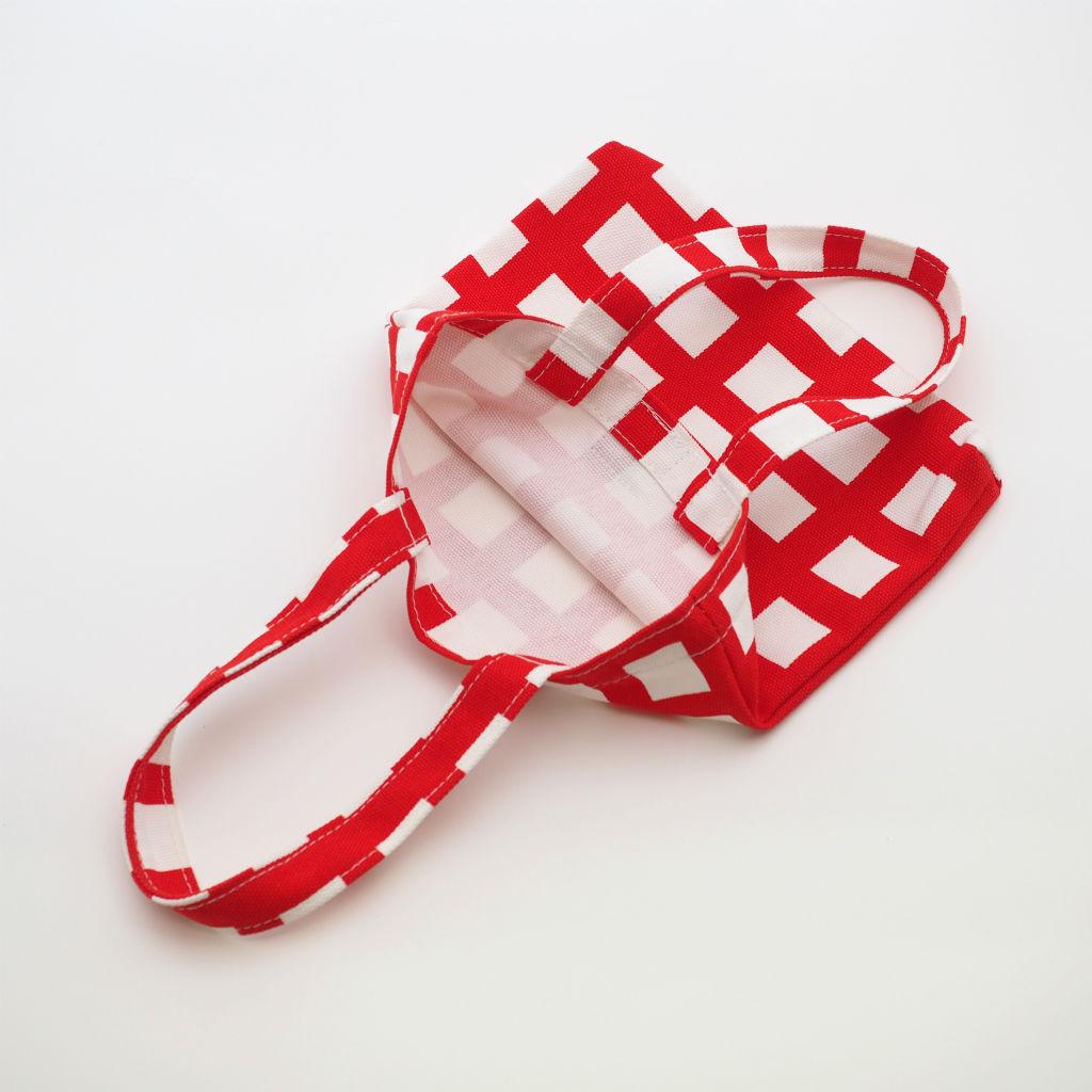 北欧スウェーデン スモールキャンバスバッグ Ripp Red / 10gruppen3