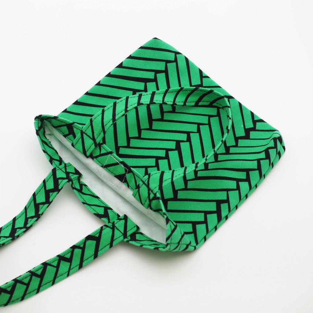 北欧スウェーデン スモールキャンバスバッグ Ax green / 10gruppen3