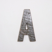 サムネイル:ALL FROM BOATS 木製アルファベット A-2 (ボート古材)