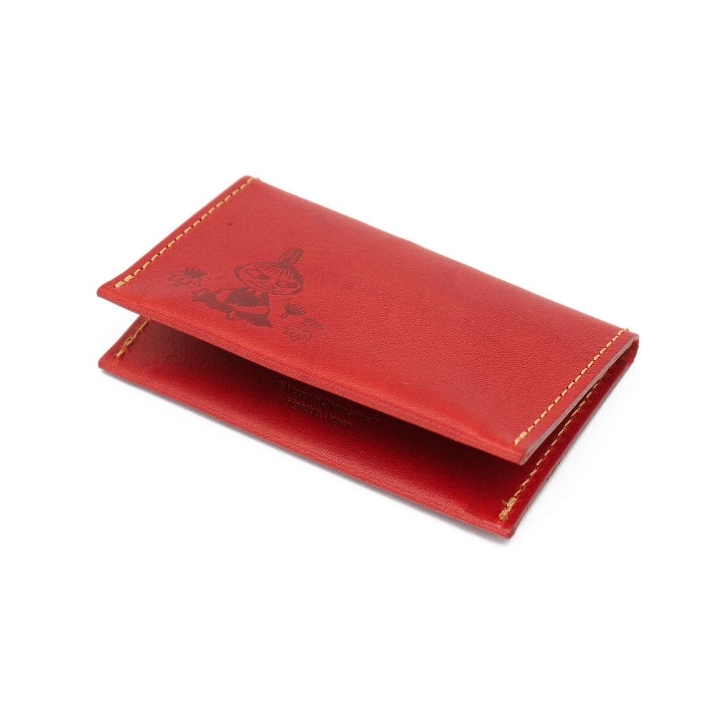 サムネイル:ムーミン レザーカードケース レッド MOOMIN