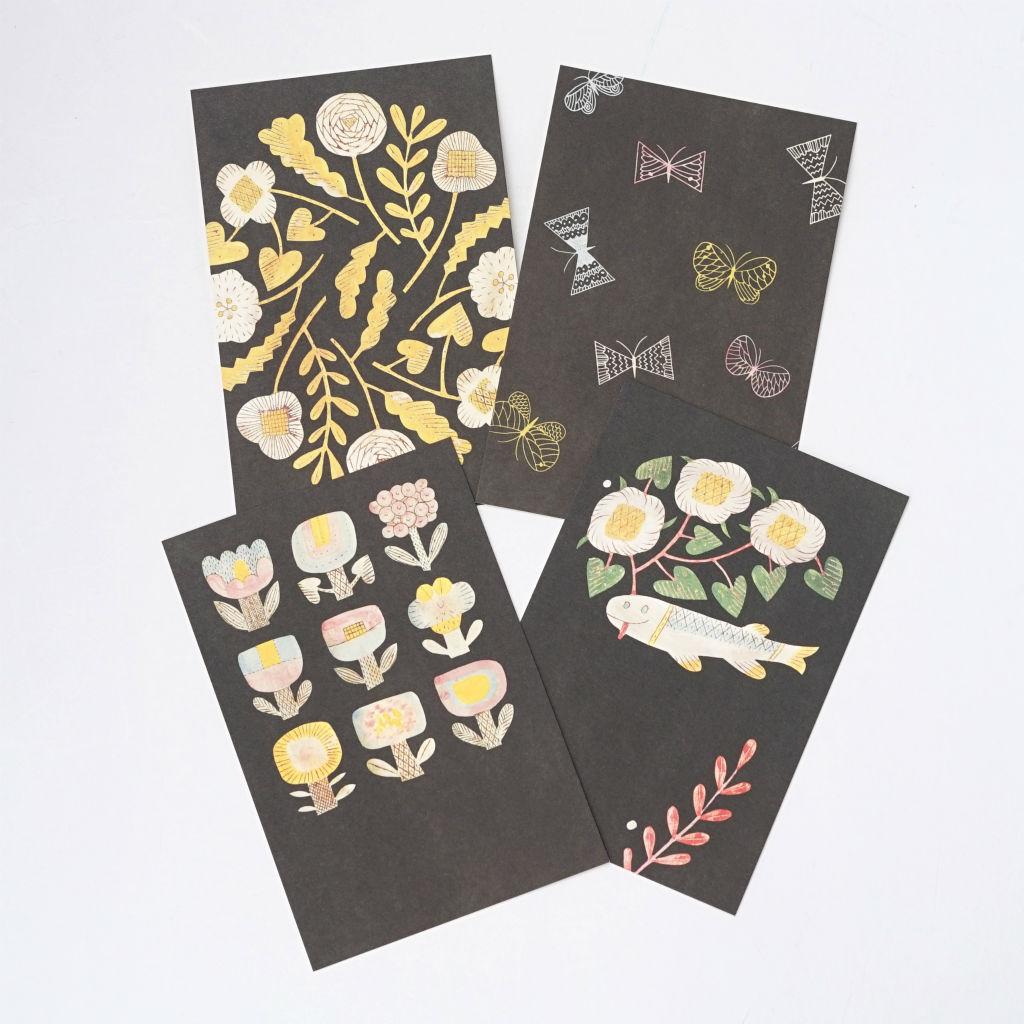 サムネイル:ZUAN & ZOKEI ポストカード in the dark