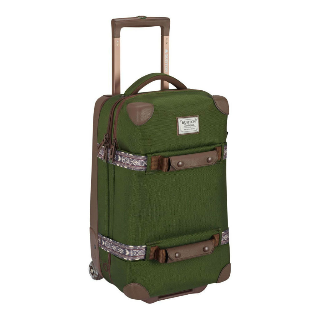 サムネイル:BURTON バートン Wheelie Flight Deck [40L] Rifle Green