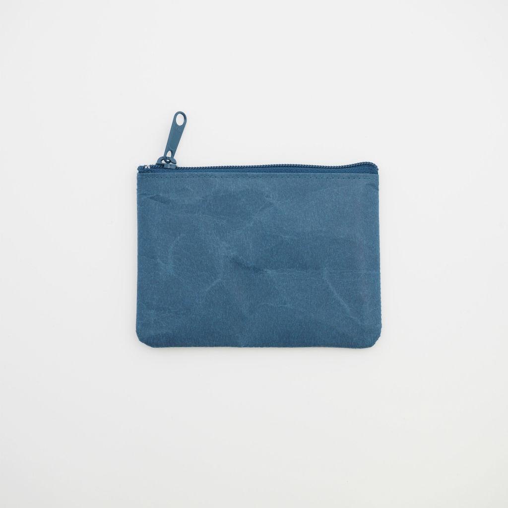 サムネイル:SIWA | 紙和 コインケース Wide ブルー