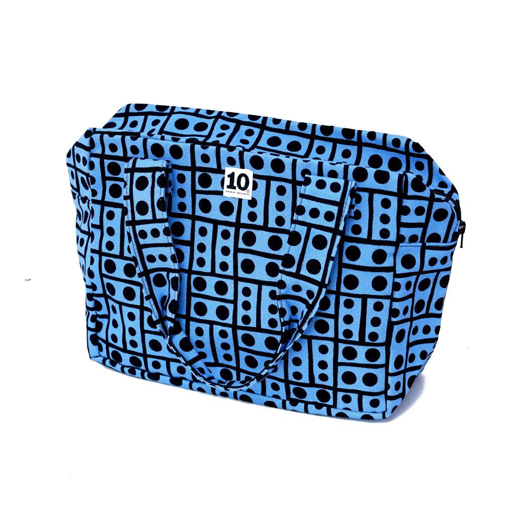 サムネイル:ボックスバッグ Hot Spot blue(10-GRUPPEN ティオグルッペン)