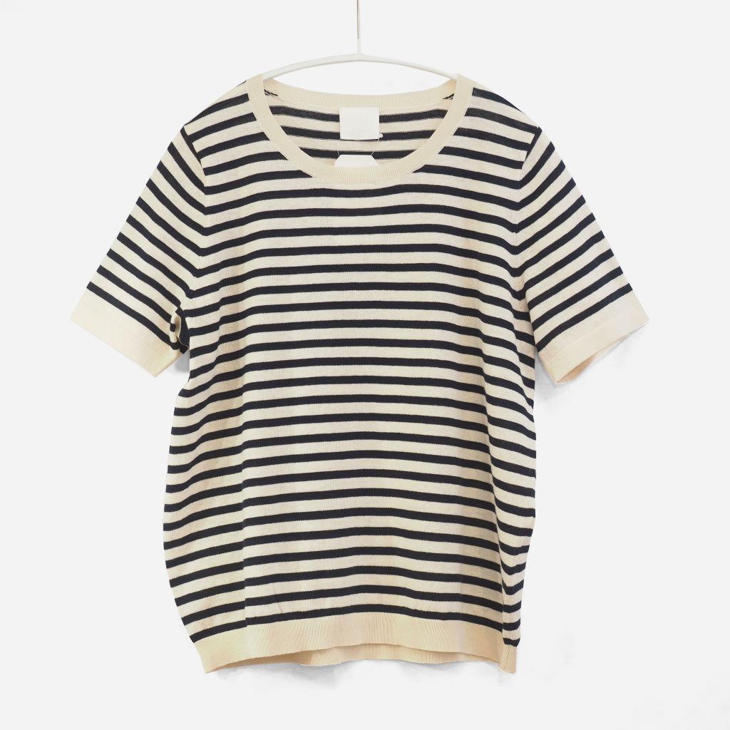 サムネイル:FUB T-Shirt ecru/navy