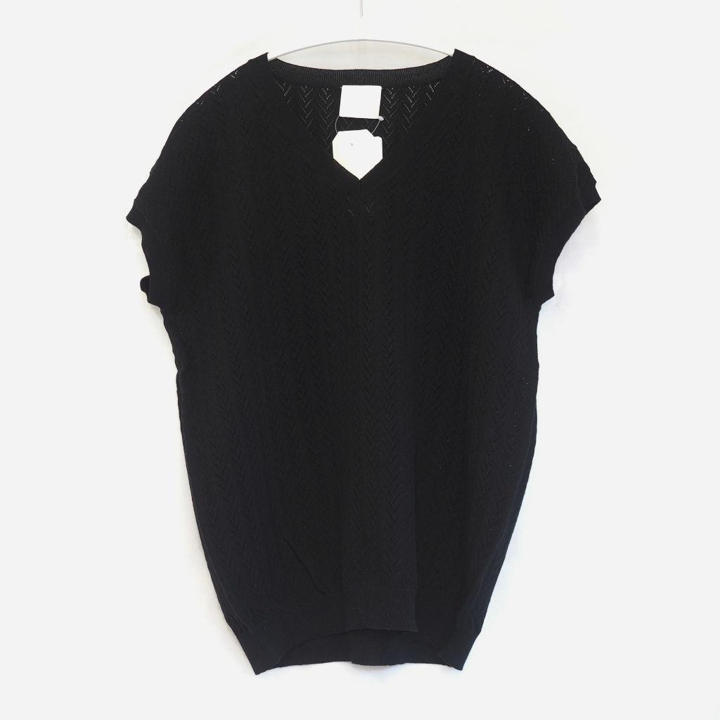 サムネイル:FUB Pointelle T-shirt ブラック
