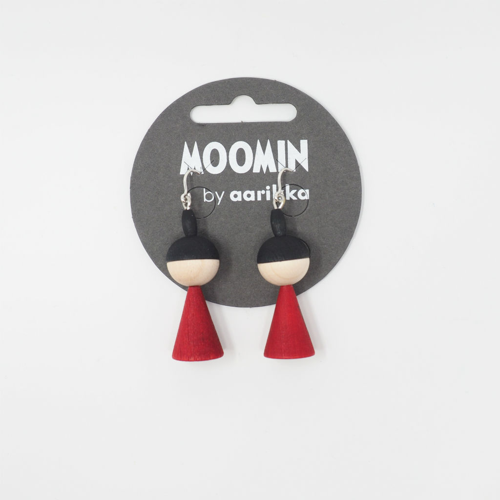 サムネイル:Moomin Little My earrings / aarikka アアリッカ