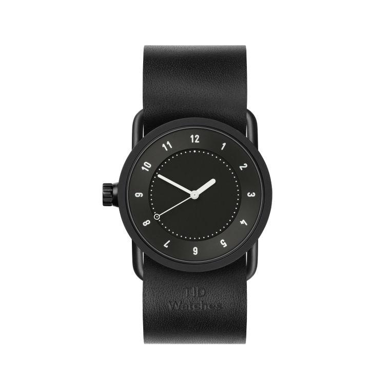 サムネイル:33mm black / Black Leather TID Watches ティッドウォッチ No.1