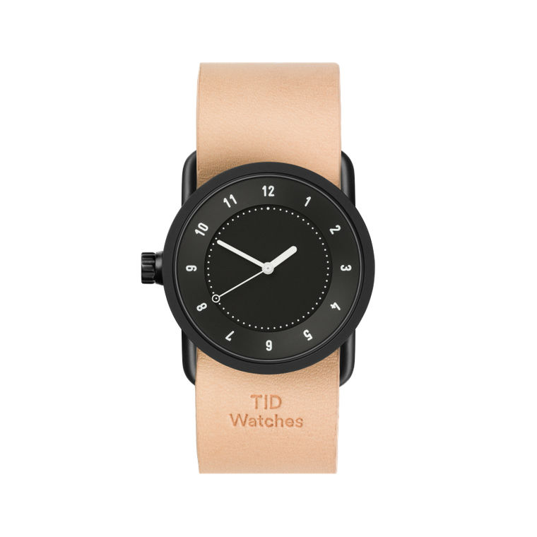 サムネイル:33mm black / Natural Leather TID Watches ティッドウォッチ No.1