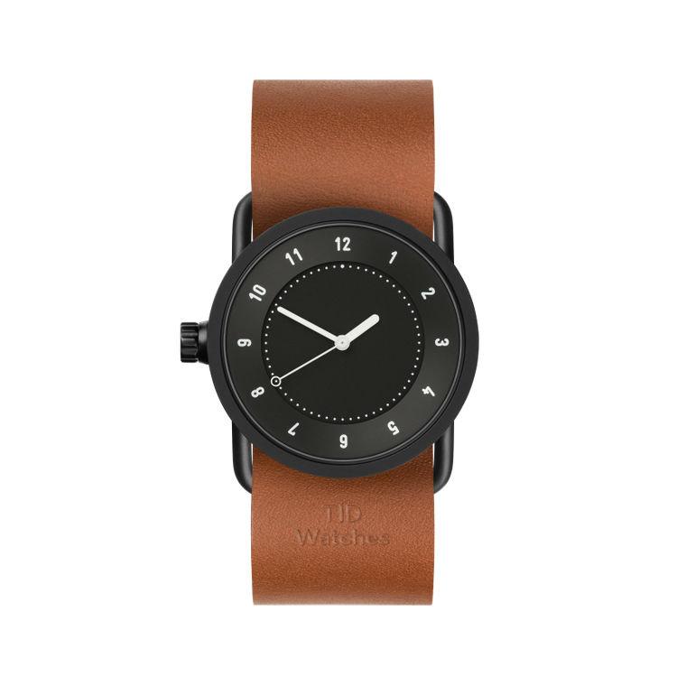 サムネイル:33mm black / Tan Leather TID Watches ティッドウォッチ No.1