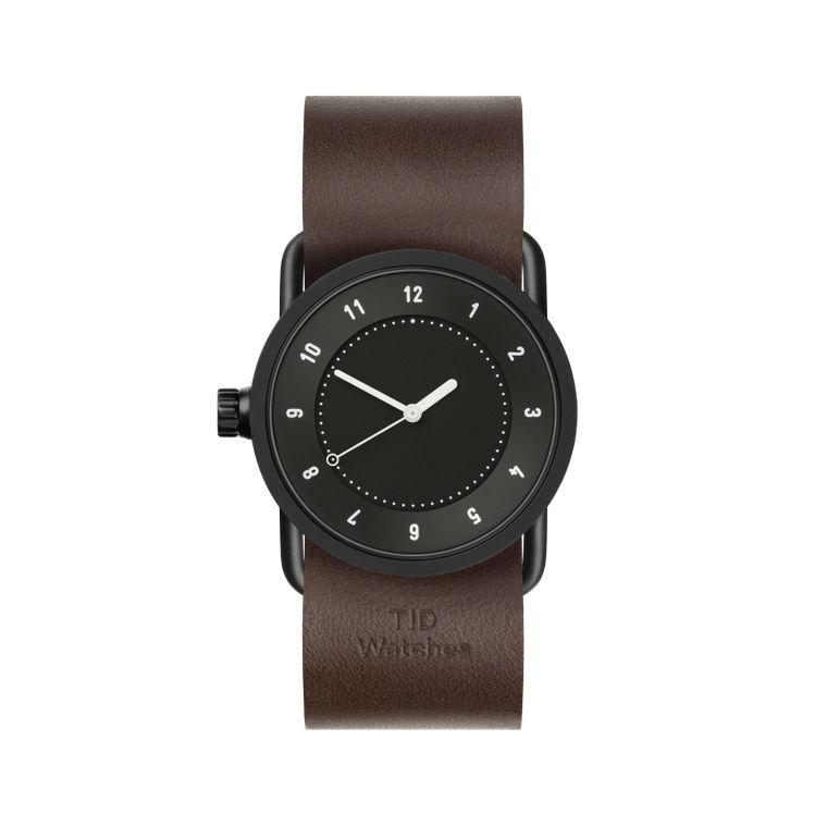 サムネイル:33mm black / Walnut Leather TID Watches ティッドウォッチ No.1