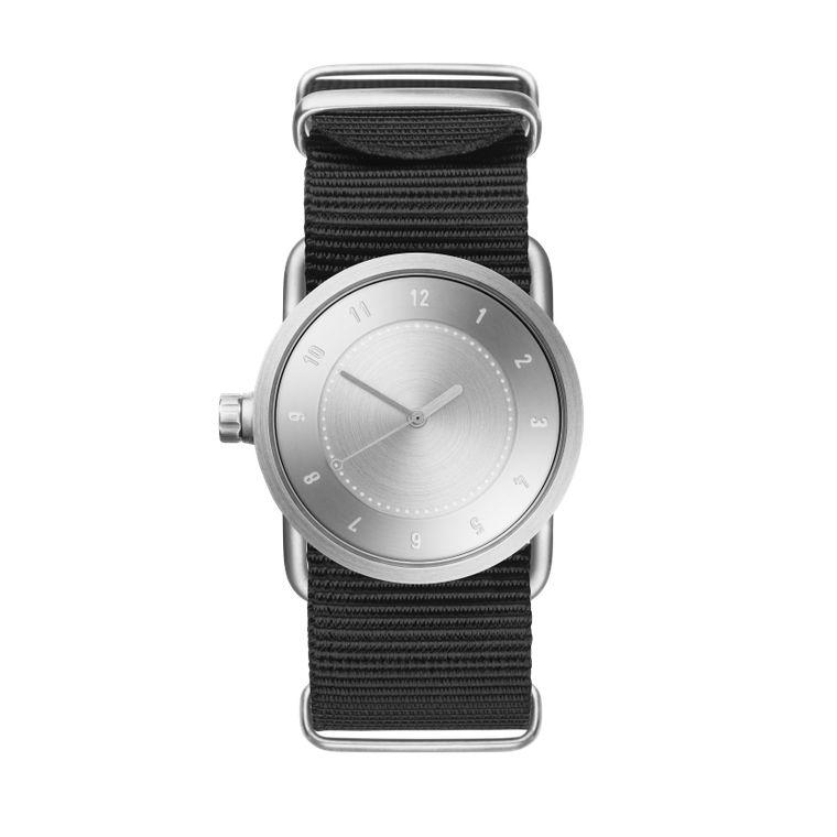 サムネイル:33mm No.1 Steel / Black Nylon TID Watches ティッドウォッチ 腕時計