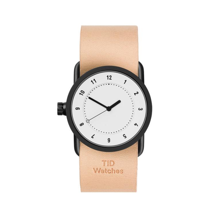 サムネイル:33mm white / Natural Leather TID Watches ティッドウォッチ No.1