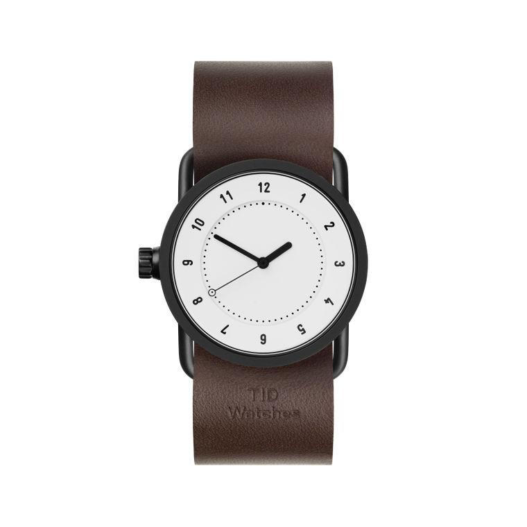 サムネイル:33mm white / Walnut Leather TID Watches ティッドウォッチ No.1