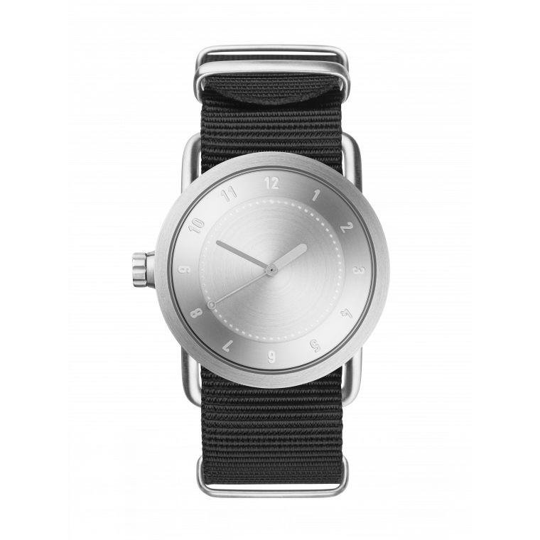 サムネイル:36mm No.1 Steel / Black Nylon TID Watches ティッドウォッチ 腕時計