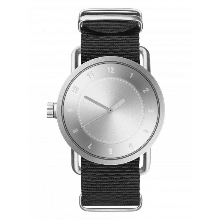 サムネイル:40mm No.1 Steel / Black Nylon TID Watches ティッドウォッチ 腕時計