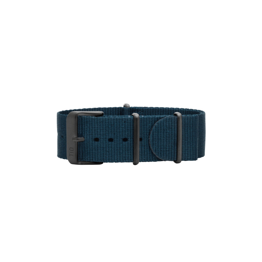 サムネイル:Blue Nylon Wristband / Black buckle TID Watches ティッドウォッチ