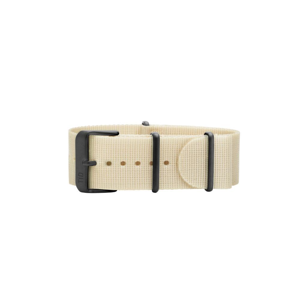 サムネイル:Off-White Nylon Wristband / Black buckle TID Watches ティッドウォッチ