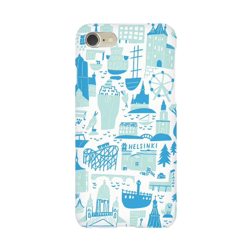 サムネイル:iPhone 7/8 ケース Helsinki blue kauniste(カウニステ)