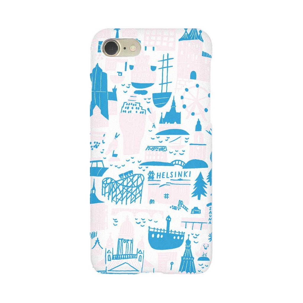 サムネイル:iPhone 7/8 ケース Helsinki pink kauniste(カウニステ)