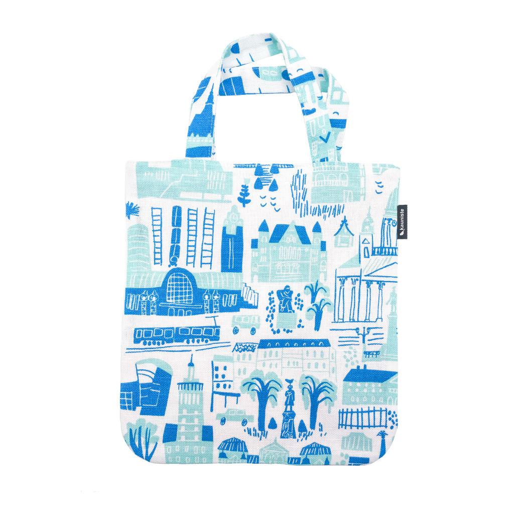 サムネイル:ミニバッグ Helsinki blue kauniste(カウニステ)