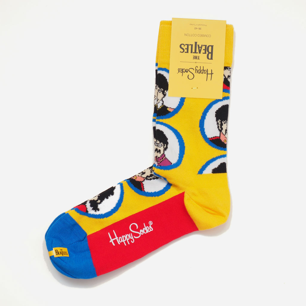 Happy Socks × THE BEATLES イエロー