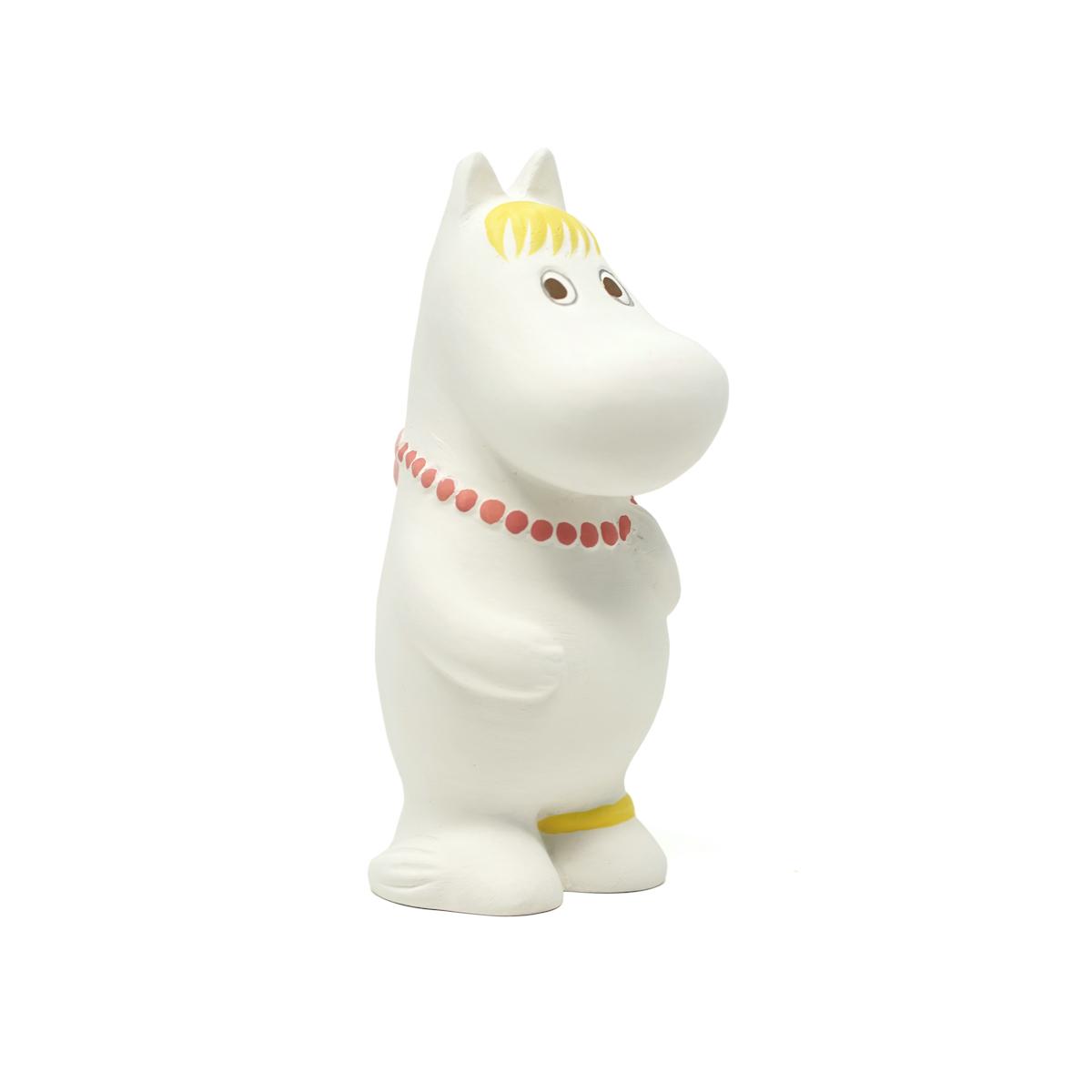 サムネイル:MOOMIN ムーミン 博多人形 スノークのおじょうさん(全長約13.8cm)