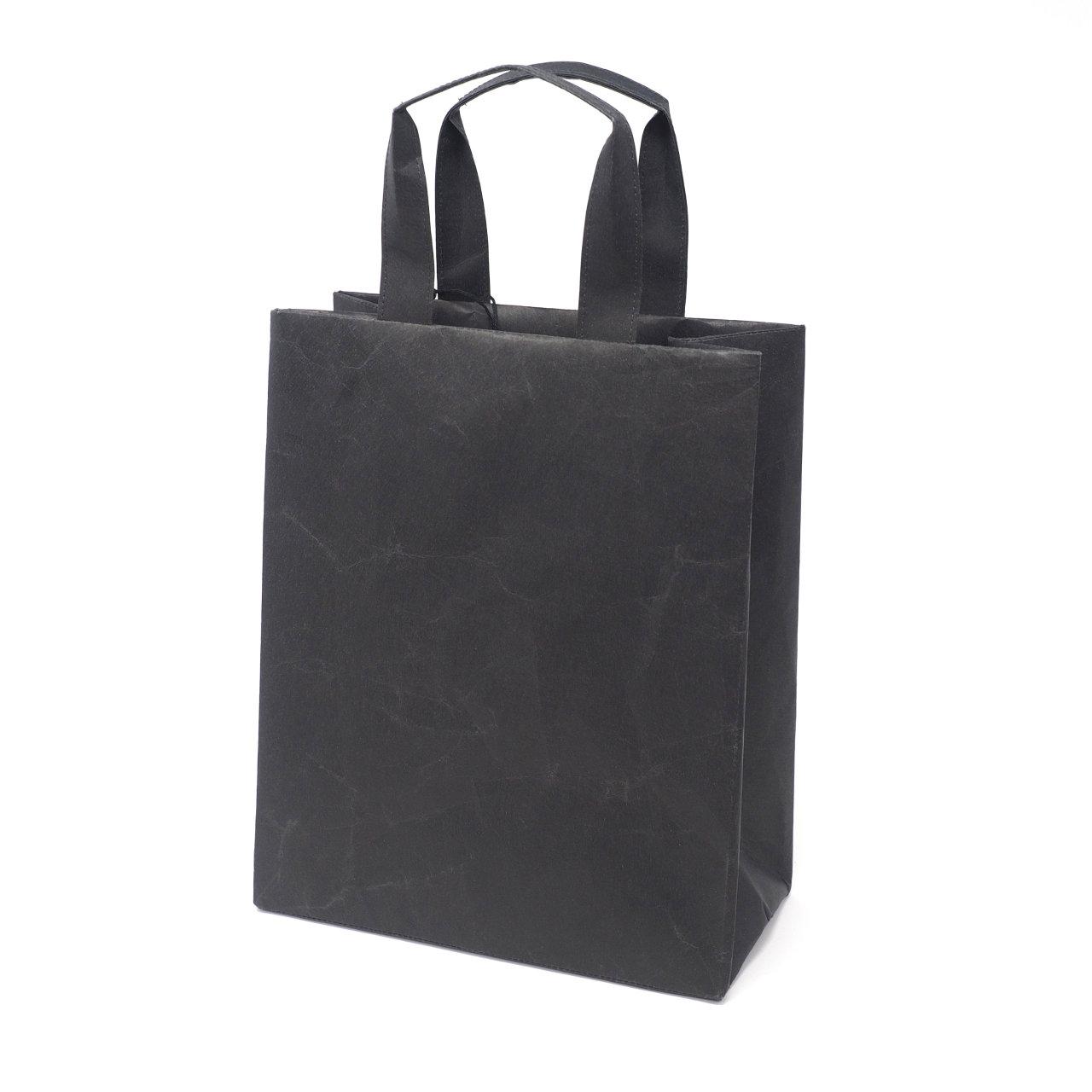 サムネイル:SIWA | 紙和 バッグスクエアA4 ブラック