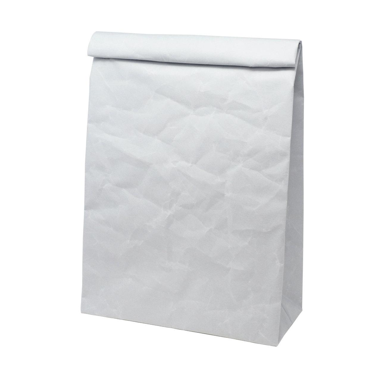 サムネイル:SIWA | 紙和 クラッチバッグ L グレー