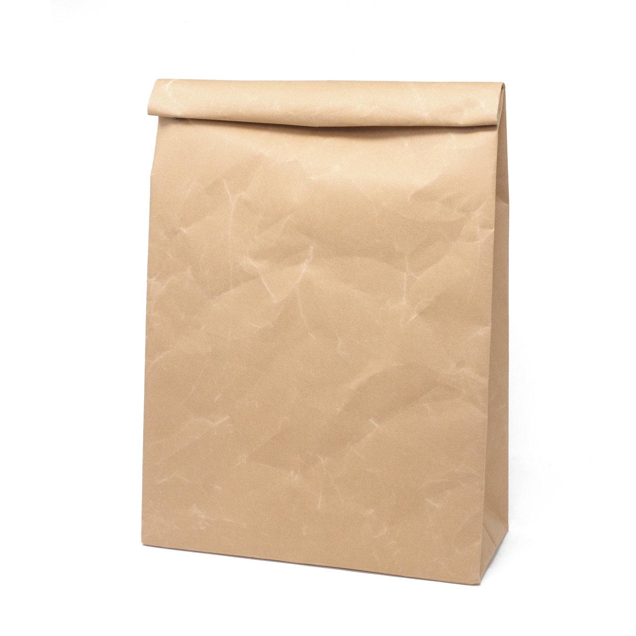 サムネイル:SIWA | 紙和 クラッチバッグ L ブラウン