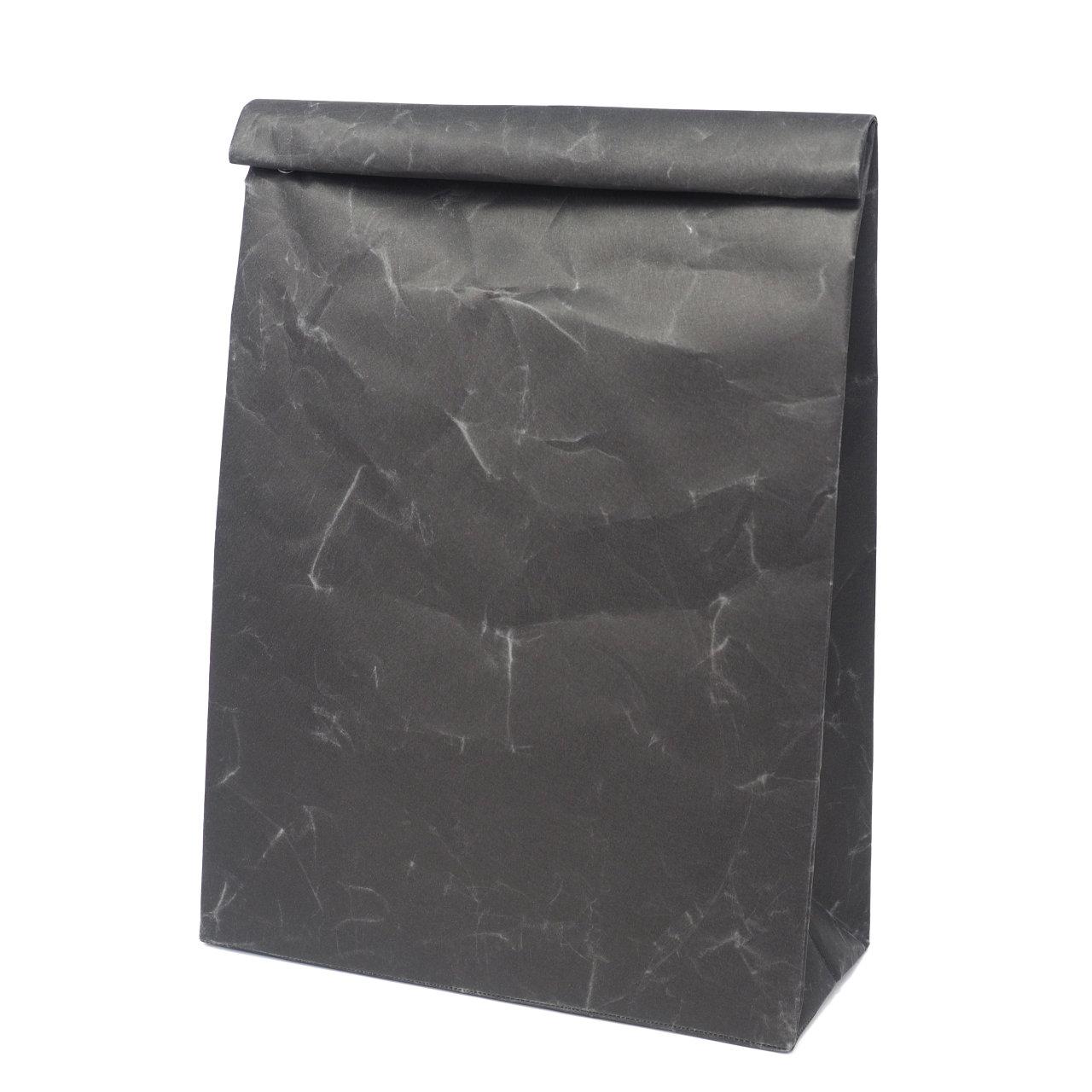 サムネイル:SIWA | 紙和 クラッチバッグ L ブラック
