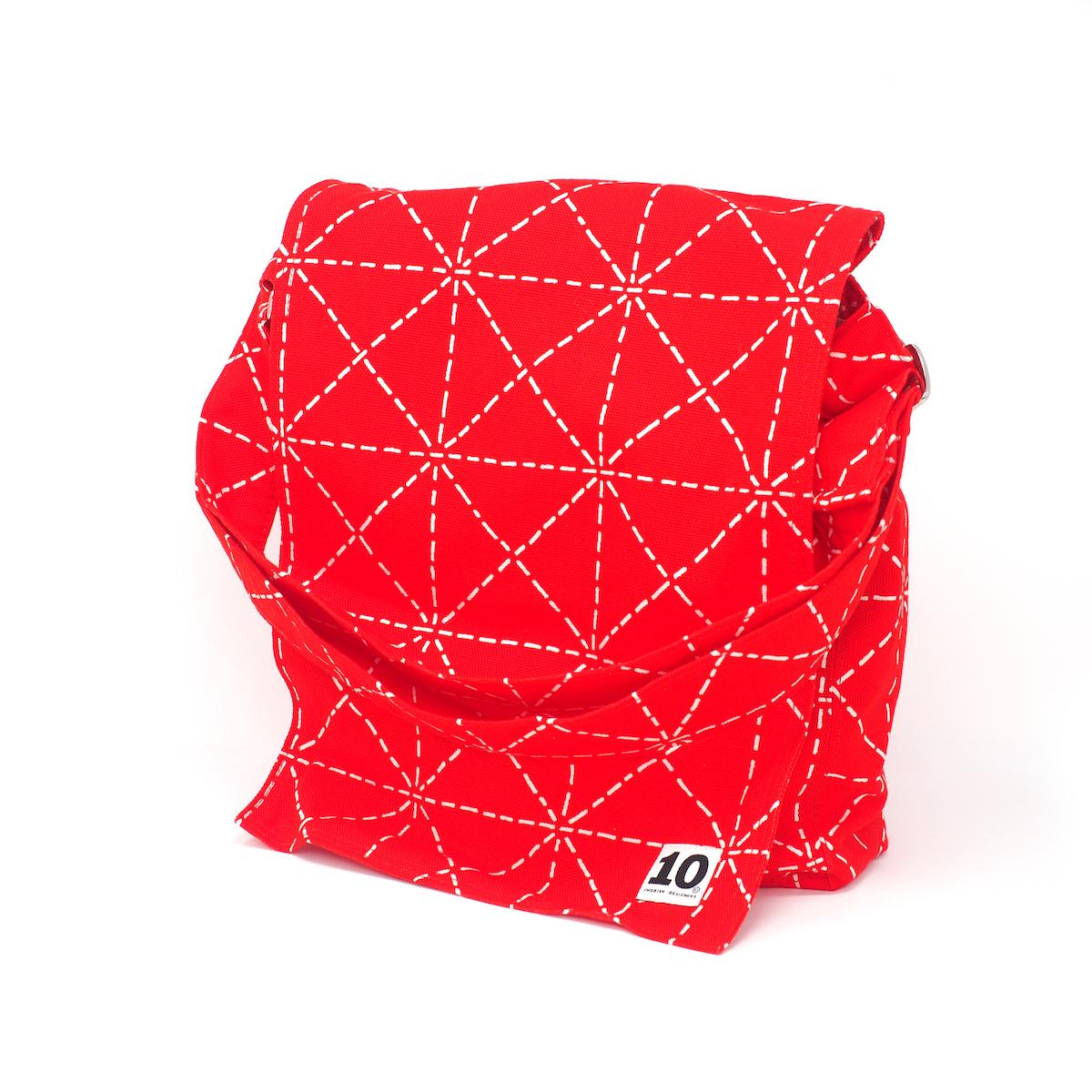 サムネイル:ショルダーバッグ フラップ Elsa red(10-GRUPPEN ティオグルッペン)