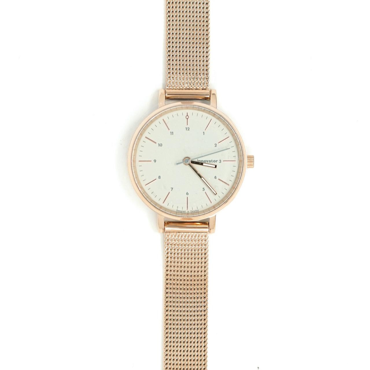サムネイル:腕時計 エンケルメッシュ ピンクゴールド 32mm(innovator / イノベーター)