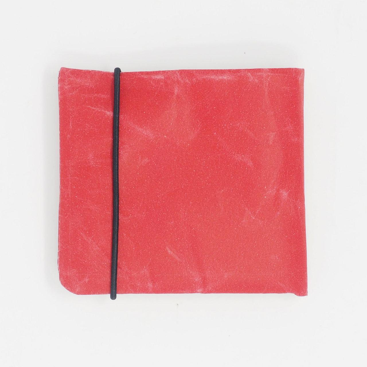 サムネイル:2つ折り財布 レッド