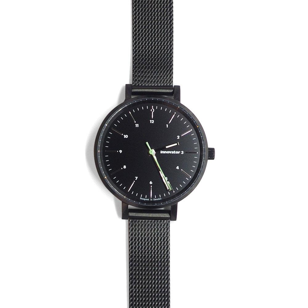 サムネイル:腕時計 エンケルメッシュ ブラック 32mm(innovator / イノベーター)