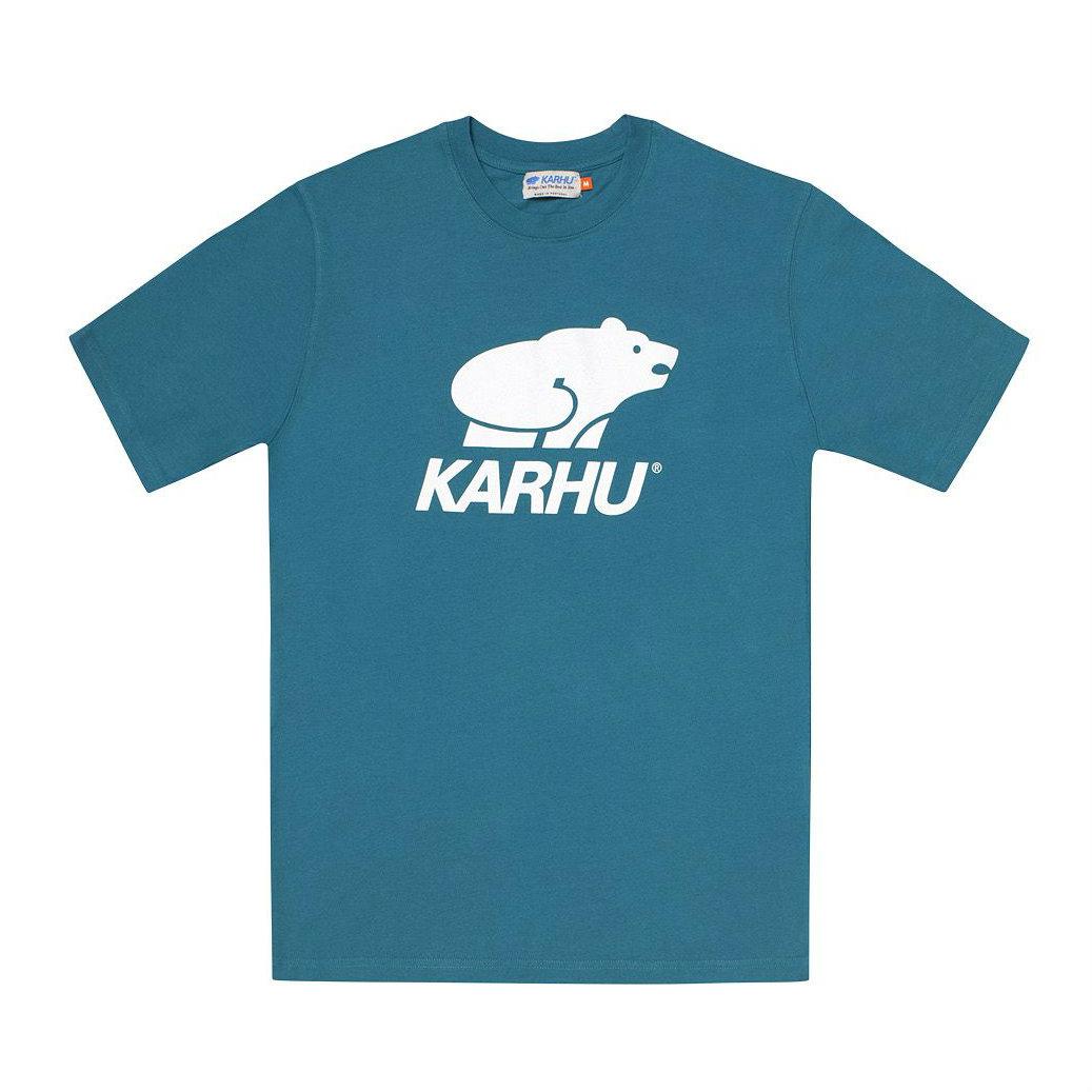 サムネイル:BasicLogo T-shirt オーシャンデファ / ホワイト(KARHU カルフ アパレル)