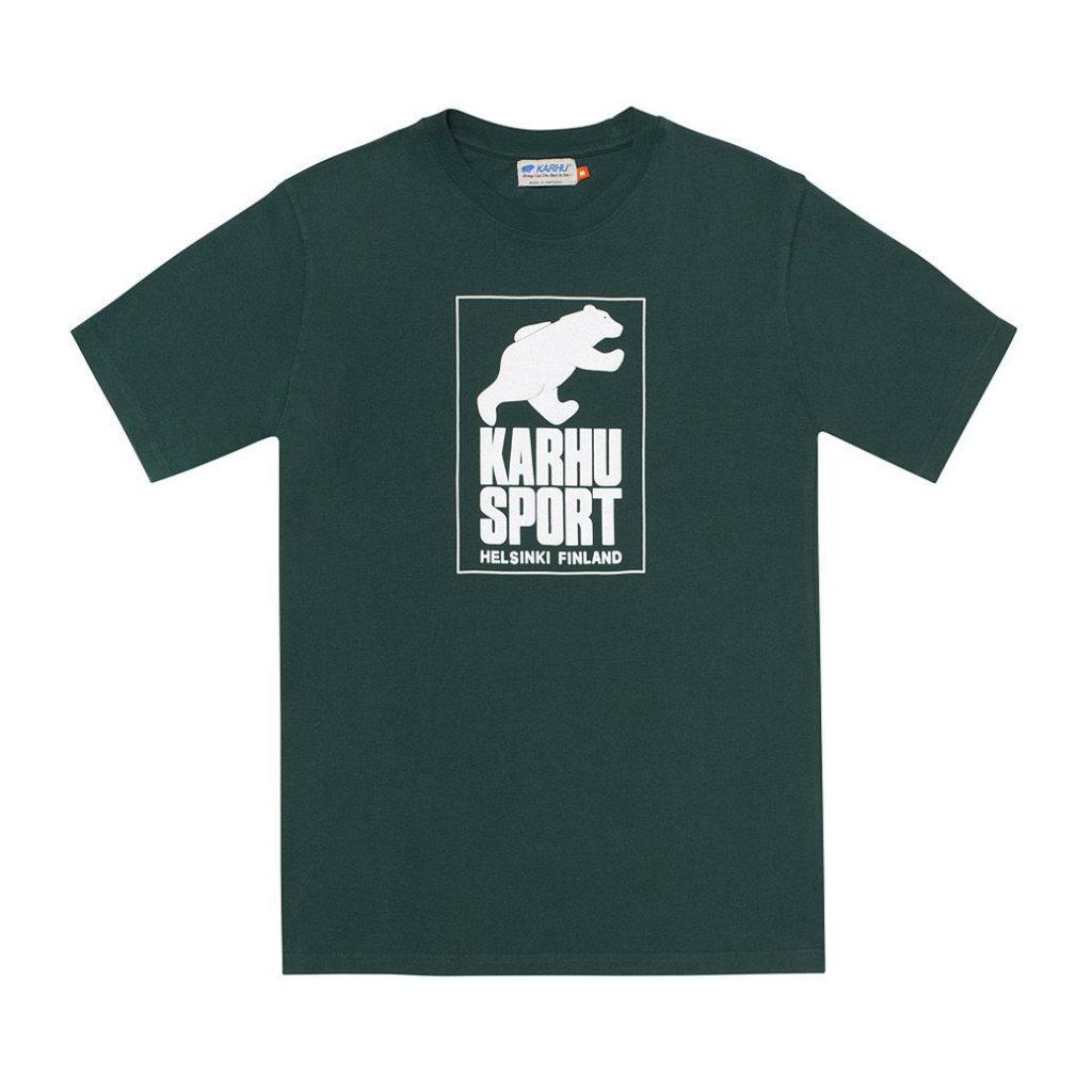 サムネイル:HelsinkiSport T-shirt ジューンバグ / ホワイト(KARHU カルフ アパレル)