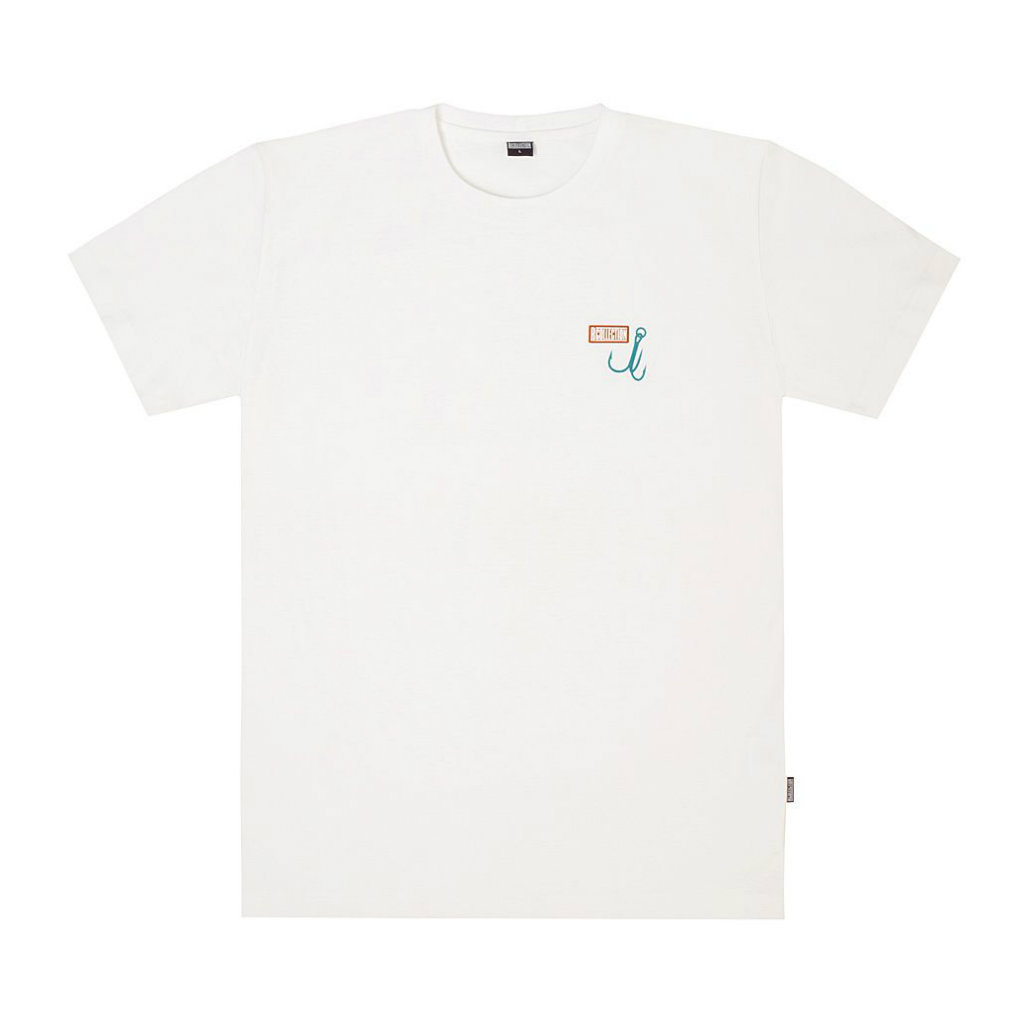 サムネイル:T-SHIRT  KARHU X R-COLLECTION OCEAN DEPTHS / WHITE(KARHU カルフ アパレル)