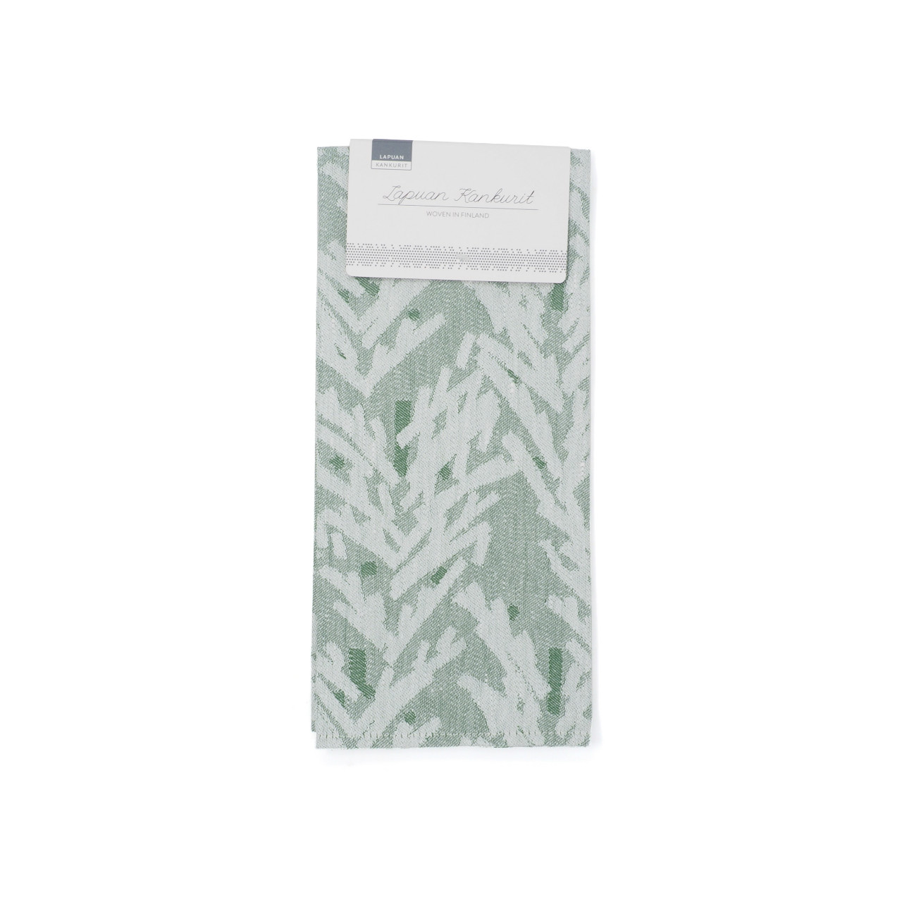 KUUSI towel(white / moss)LAPUAN KANKURIT ラプアンカンクリ
