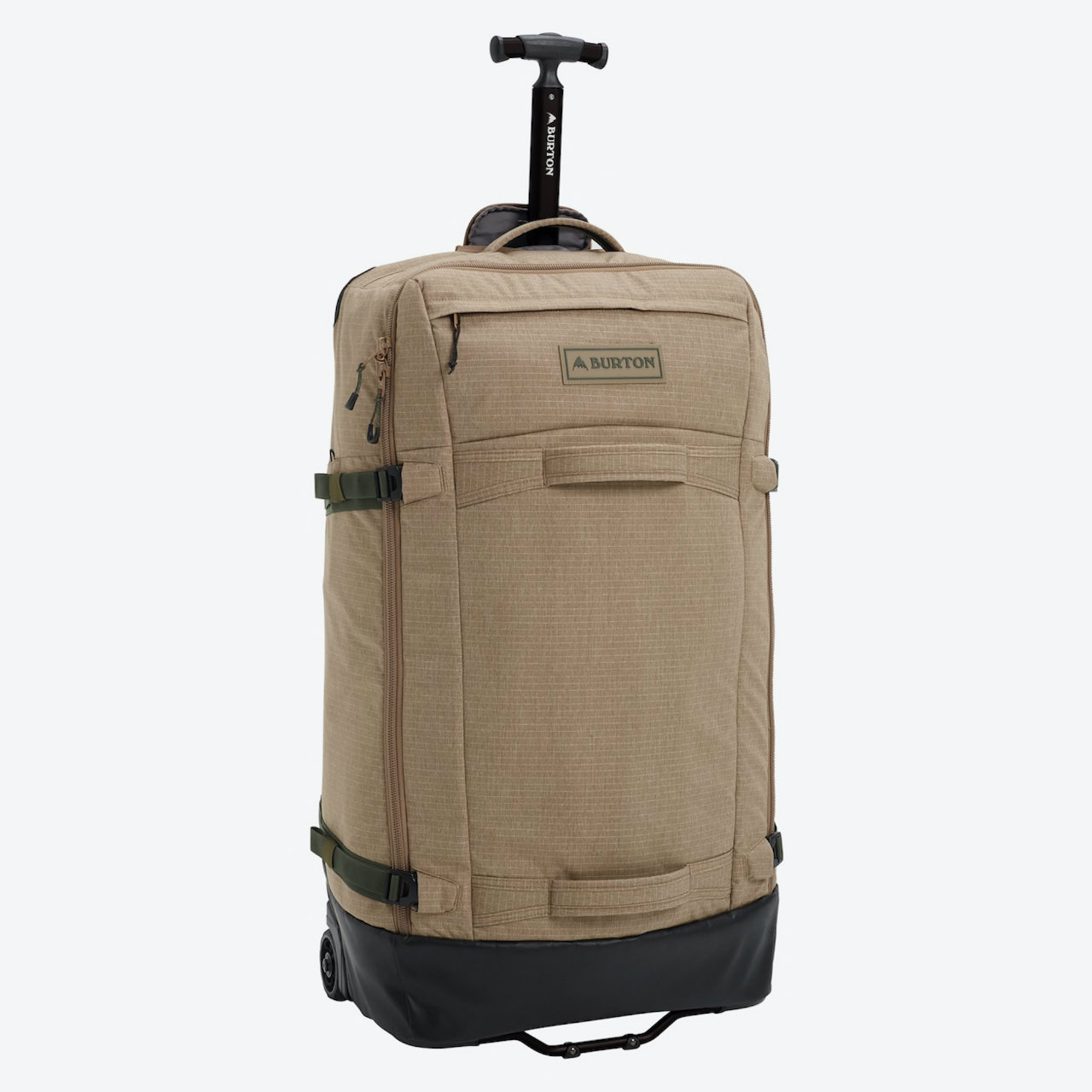 バートン Multipath 90L Checked Travel Bag(Timber Wolf Ripstop)