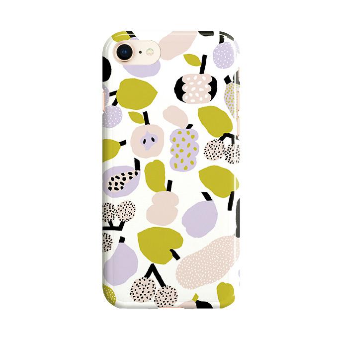 サムネイル:iPhone ケース Tutti Frutti オリーブグリーン kauniste(カウニステ)